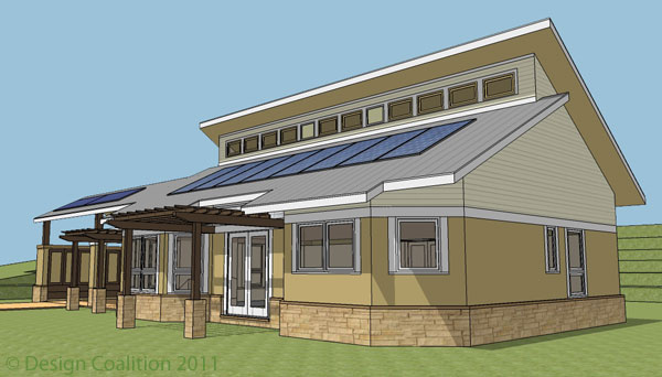 Design coalition for Solar energy house designs